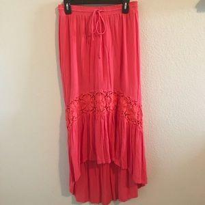 Areopostale high low boho skirt size medium